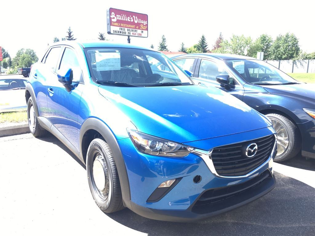new 2017 mazda cx 3 gx 4 door sport utility in sherwood park 176326 park mazda. Black Bedroom Furniture Sets. Home Design Ideas