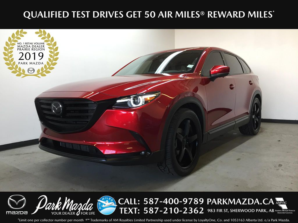 Pre-Owned 2020 Mazda CX-9 GT Captain's Chairs Pkg.