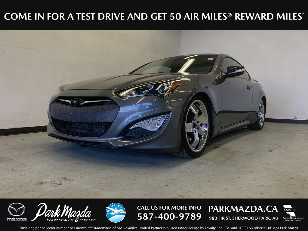 Genesis Coupe 2016 >> Pre Owned 2016 Hyundai Genesis Coupe Premium With Navigation