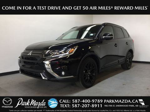 Pre-Owned 2019 Mitsubishi Outlander SE Black Edition