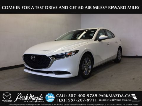 Pre-Owned 2019 Mazda3 GS-LUXURY